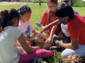 Animal Visits Recess