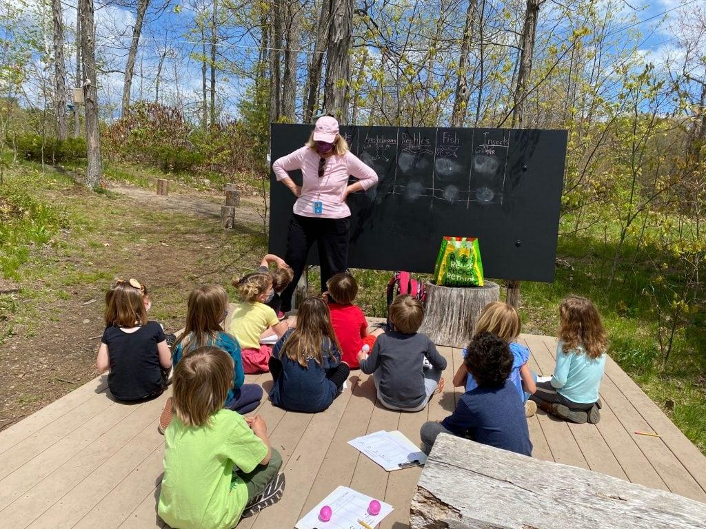 VES outdoor classroom